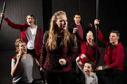 The cast of BYU's Young Company production of HENRY 5