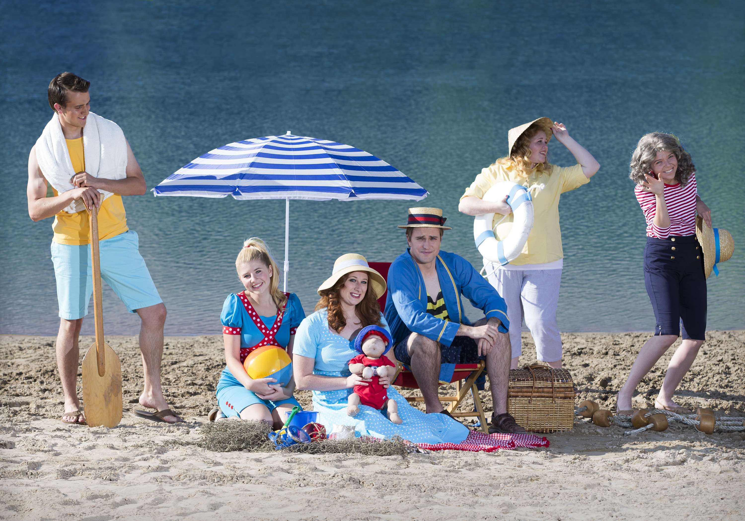 1509-37 014 Play Water Sings Blue publicity at Springville Beach September 8, 2015 Photography by: Mark A. Philbrick/BYU Photo Copyright BYU Photo 2015 All Rights Reserved photo@byu.edu (801)422-7322 2512