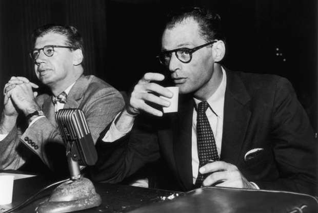 Arthur Miller testifies before HUAC